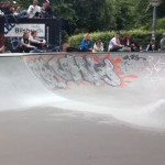another city skatepark, enghave plads, this day with live jazz band